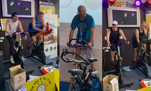 Give Me 5 For Kids Spin-a-thon