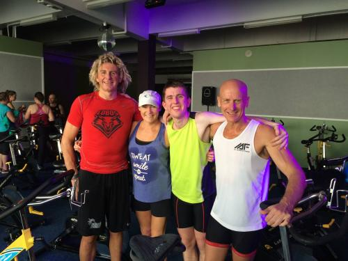 The Super Stiks Spin Charity Ride